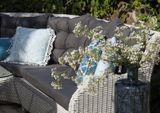 Zahradní ratanová sedací souprava SIENA bílá