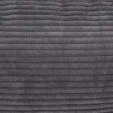 Polštář Vetsak - Velour tmavě šedá