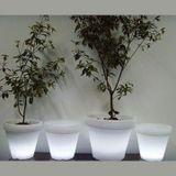 Zahradní osvětlení LED květináč Elefante 62