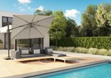 Zahradní slunečník Challenger T2 Premium 3 x 3 m