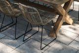 Zahradní teakový jídelní set LYON 240 cm III.
