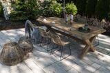 Zahradní teakový jídelní set