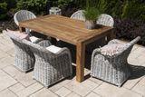 Zahradní teakový stůl NIMES