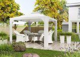 Záhradný ratanový stôlFILIP Ø 90 cm