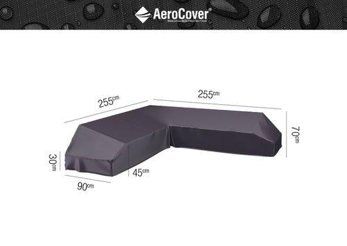 Ochranný kryt na zahradní nábytek L - 255x255x90xH30/45/70