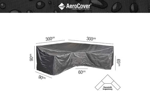 Ochranný kryt na zahradní nábytek L - 300x300x90xH65/90 HB