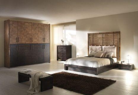 Bambusová postel BANDUNG