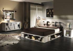 Bambusová postel CROSS W