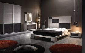 Bambusová postel DIAMANTE