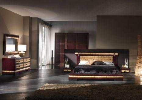 Bambusová postel ISAYTO
