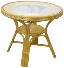 Jídelní ratanový stůl 02-09A