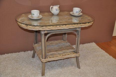 Ratanový  stolek ROMA CUBU