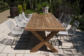 Zahradní teakový jídelní set LYON TEAK 300 cm II