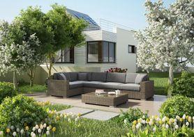 Zahradní ratanová sedací souprava MILANO II. písek