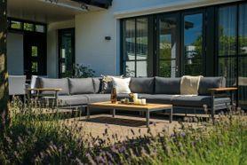Luxusní zahradní set antracit AVELINO I.