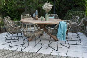 Zahradní teakový jídelní set BORDEAUX 170 cm I.