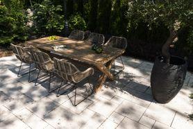 Zahradní teakový jídelní set LYON 240 cm II.