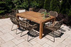Zahradní teakový jídelní set NIMES 180 cm II.