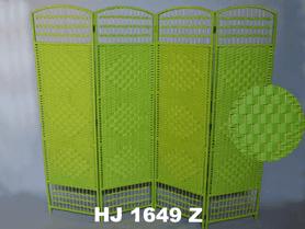 Zelený paraván HJ 1649-Z