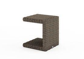 Zahradní ratanový stolek Romeo písek