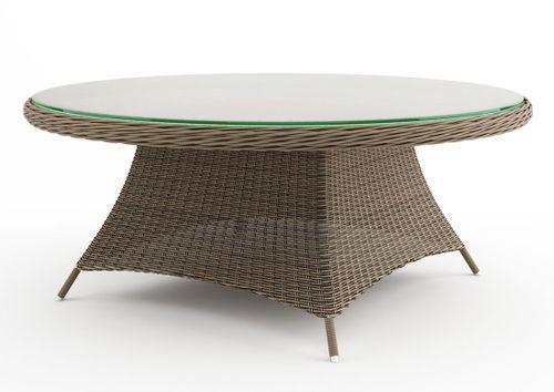 Zahradní ratanový stůl RONDO Ø 180 cm
